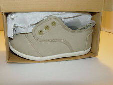 Brand New My Buddies Toddler Slip On Shoes Khaki Beige Aaron-2 Size 10