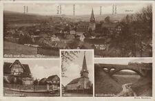 38301 - Gruß aus Viernau mit Kirche im Landkreis Schmalkalden-Meiningen 1938