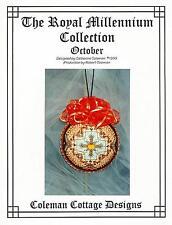 "Catherine Coleman Cottage Royal Millennium ""October"" Heirloom Ornament Design"