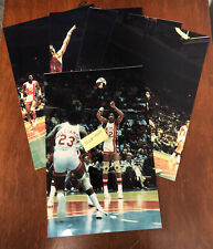 RARE 1975 ABA Photo Lot Spirits of St. Louis vs New York Nets DR J Julius Erving