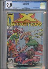 X-Factor #20  CGC 9.8 1987 Marvel Rusty, Skids, Rictor, Leech App: NEW FRAME