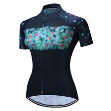 Weimostar Women's Cycling Jersey Bike Short Sleeve Maillots Clothing Sportswear