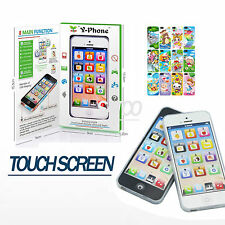 Toy Phone Childrens kids Y-PHONE Educational Learning Kids iphone Toy 4s 5 GIFT