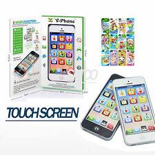 TELEFONO giocattolo per bambini Y-phone didattiche Kids Giocattolo iPhone 4S 5 REGALO