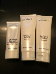 2X JOAN RIVERS BEAUTY THE RIGHT TO BARE LEGS MOISTURIZER 6oz + Free 3oz NWOB