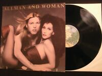 Allman and Woman - Two The Hard Way - 1977 Vinyl 12'' Lp./ Cher / VG+/ 70's Rock