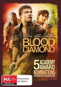 Blood Diamond DVD - Leonardo DiCaprio Sierra Leone SLAVES SMUGGLERS ACTION MOVIE