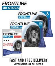 More details for frontline spot on dog flea tick lice treatment for extra large dog (avm-gsl)