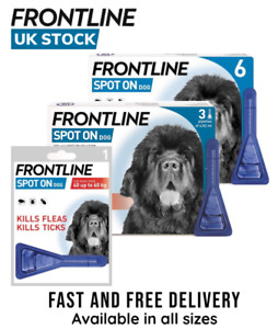 Frontline Spot on Dog Flea Tick Lice Treatment for Extra Large Dog (AVM-GSL)