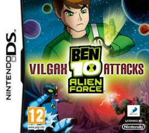 Ben 10 Alien Force Vilgax Attacks Nintendo DS