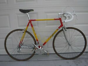 Guerciotti Vintage Italian Steel Racing Bike 59cm , new cables & chain