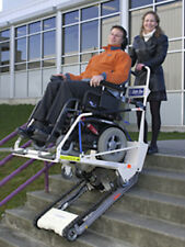 Garaventa Super-Trac power wheelchair stair lift, climbing-climber scalamobil
