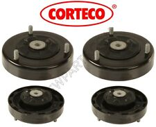BMW E39 540i Set of 2 Rear Upper Shock Mount with Spring Pads CORTECO 3352109171