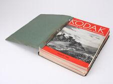 KODAK MAGAZINE (FOR EMPLOYEES), 30+ ISSUES 1937-41 BOUND/cks/214757