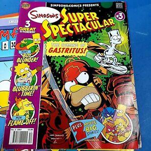 🌟 Simpsons Comics Super Spectacular Issue #3 2007 Bongo Comics Number 3