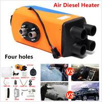 3KW-5KW Four Holes 12V Air Diesel Heater Car Winter Warmer RV Van Truck Boat Bus