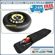 """SEAT LEON & LEON FR , ST (2012-PRESENT DAY) 18"""" SPACE SAVER SPARE WHEEL + TOOLS"""