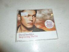 DAVID SNEDDON - Stop Living The Lie - 2003 UK 3-track CD