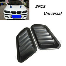 2PCS Car Truck SUV Decorative Air Flow Intake Scoop Turbo Bonnet Vent Cover Hood
