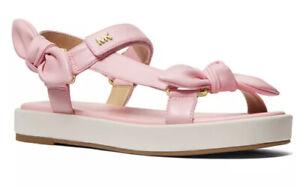 Nib Michael kors phoebe sandals pink size 9