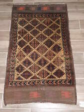 3x4ft. Handmade Antique Balouch Wool Prayer Rug
