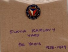 SLAVIA KARLOVY VERY 50 years 1928-1978 Lapel badge