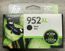 NEW Genuine HP 952XL Black Ink Cartridge, High Yield F6U19AN OEM Exp. 2021-2022