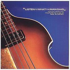 Listen What Man Said Paul McCartney Tribute CD 2001 SEMISONIC, BARENAKED LADIES