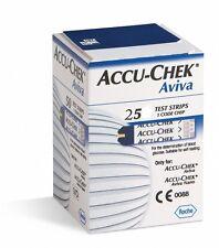 Accu-Chek Aviva 25 Strisce reattive - Glicemia Diabete Roche