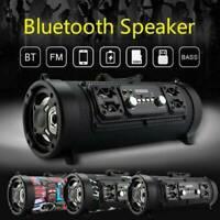 Bluetooth LOUD Speaker Wireless Outdoor Stereo Bass Subwoofer USB/TF/FM Radio US