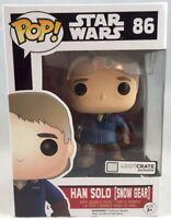 Funko Pop Vinyl Star Wars Han Solo Snow Gear Figure 86 Loot Crate Exclusive