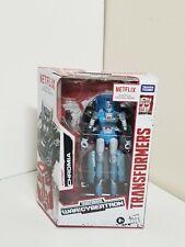 NEW Transformers War For Cybertron Trilogy Netflix Deluxe Class Chromia Figure