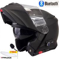VIPER RS-V171 BLUETOOTH FLIP FRONT MOTORBIKE MOTORCYCLE HELMET MATT BLACK