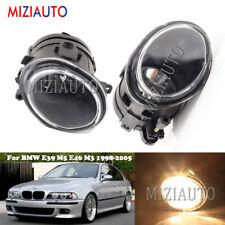 Fog Light For BMW E39 M5 E46 M3 1998-2003 2004 2005 Bumper Driving Lamp L/R Pair