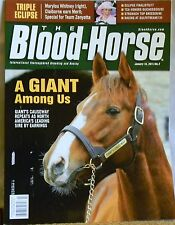 Blood Horse Magazine January 15, 2011 A Giant Among Us