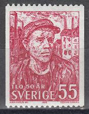 Schweden / Sverige Nr. 632C** 50 Jahre ILO