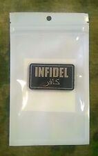 PVC Infidel Hook-Back Morale Patch