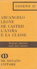 LEONE DE CASTRIS Arcangelo - L'anima e la classe