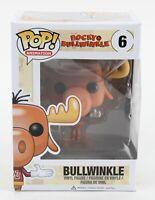 Funko POP Animation 2014 Rocky Bullwinkle #6 Bullwinkle Vinyl Figure 1035AU