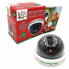 Elf Fake CCTV LED Dome Camera Security Dummy Surveillance Outdoor Xmas Decor Cam