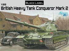 DRAGON 3555 Maquette Char Lourd Britanique Conqueror Mark 2