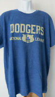 vtg BLUE LOS ANGELES DODGERS DODGER T - SHIRT Tee Men's XL
