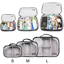 Universal Travel Storage Case Bag for Electronic and Commodity Transparent S M L