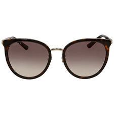 Gucci Brown Gradient Round Sunglasses