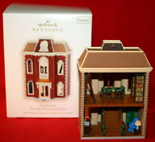 HALLMARK ORNAMENT 2007 BOOKSTORE # 24 IN NOSTALGIC HOUSES AND SHOPS SERIES