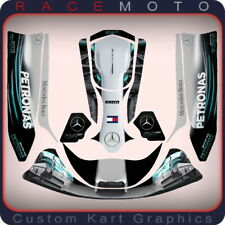F1 Sticker Kit for Top Kart Cadet Rotax Max Iame Pro Tkm 100 115 Extreme Junior