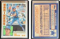 Ron Roenicke Signed 1984 Topps #647 Card Seattle Mariners Auto Autograph