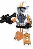 Commander Cody Star Wars Clone Wars Minifigure Fits Lego US SELLER New