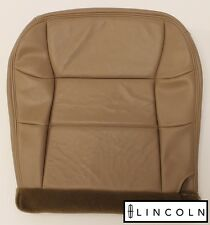 2001 Lincoln Navigator -Driver Side Bottom Replacement LEATHER Seat Cover Tan