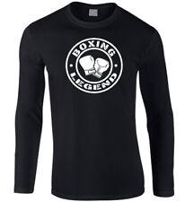 Boxing Men's Long Sleeve T-Shirt Gym Exercise Kick Training